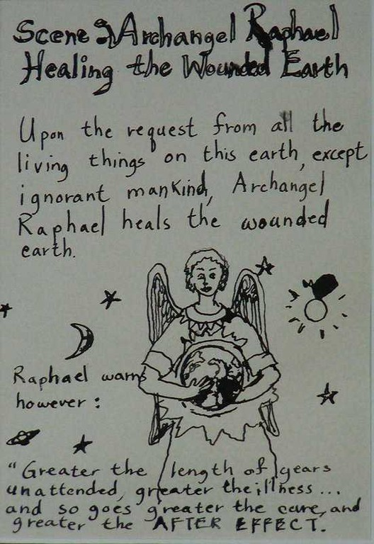 """Archangel Raphael Healing the Wounded Earth"", story part"