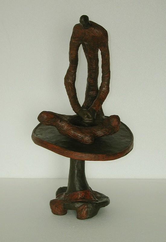 """People of the Tree- Meditative Figure"", 2002-3"