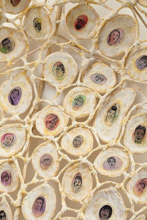 """Primordial Petal"" (detail),2013"