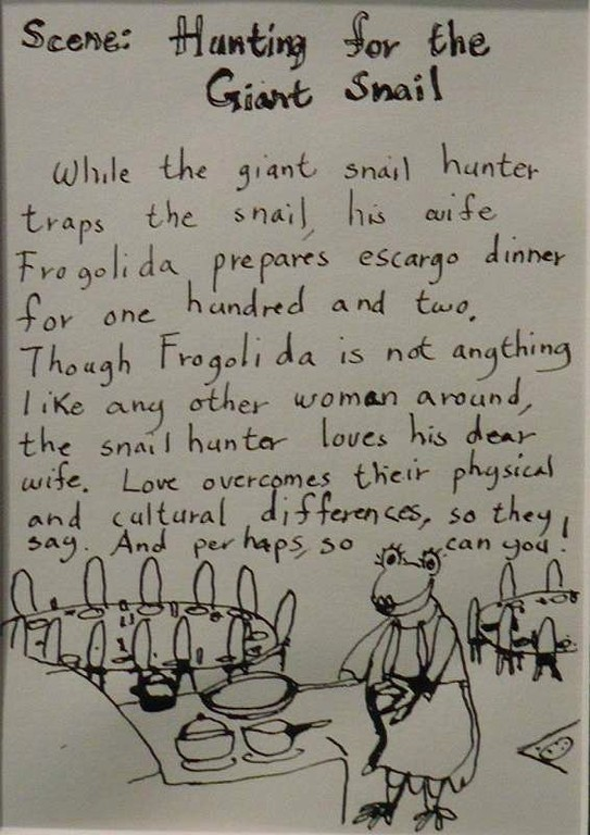 """""""Hunting for the Giant Snail"""", story part"""