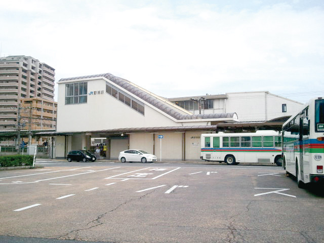 JR 野洲駅         2100M