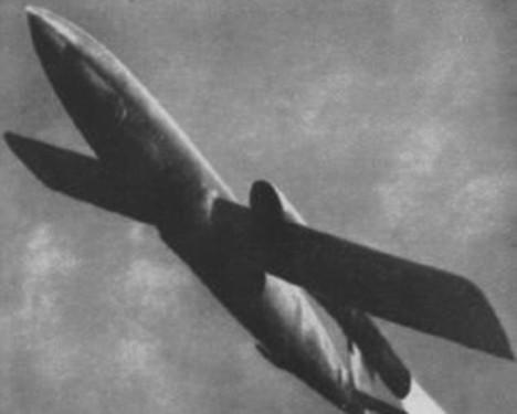 Il primo missile radio-guidato, progetto italo-tedesco