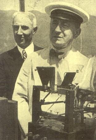 Lo scienziato Guglielmo Marconi
