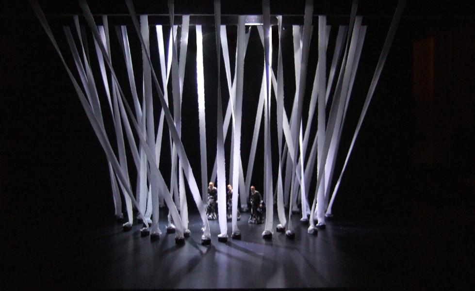 Maquette 1/20è - Recherche Lumières © Dominique Drillot