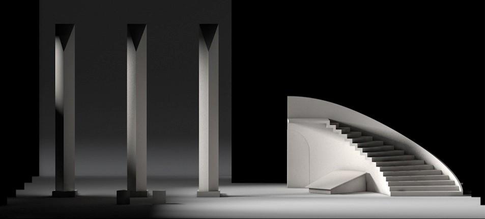 Rendu 3D © Dominique Drillot & Matthieu Stefani