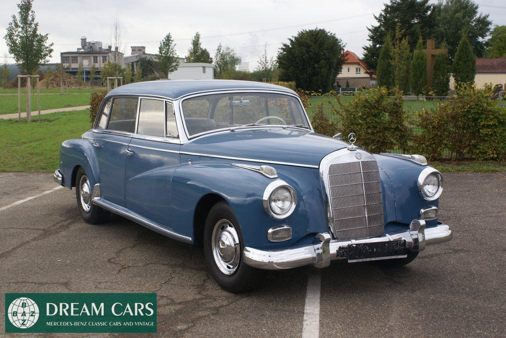 1961 mercedes benz 300d adenauer w189 baz dreamcars for Mercedes benz 300d parts