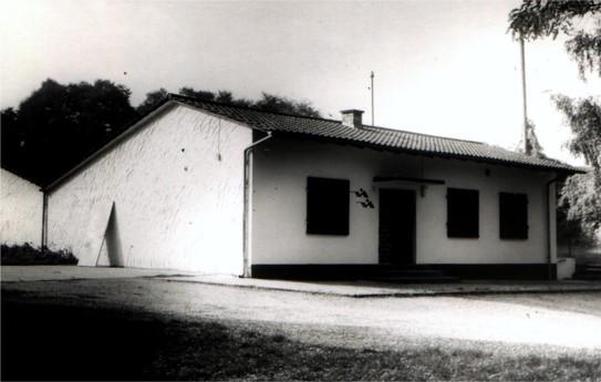 Das Rauenberger Schützenhaus in den 70er Jahren