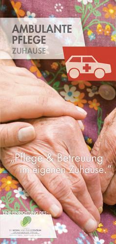 Flyer  Ambulante Pflege