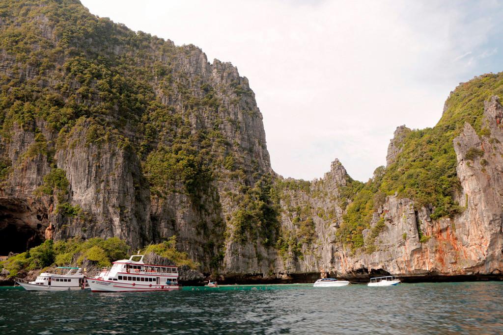 Impressionen von der östlichen Seite Koh Phi Phi Leh´s