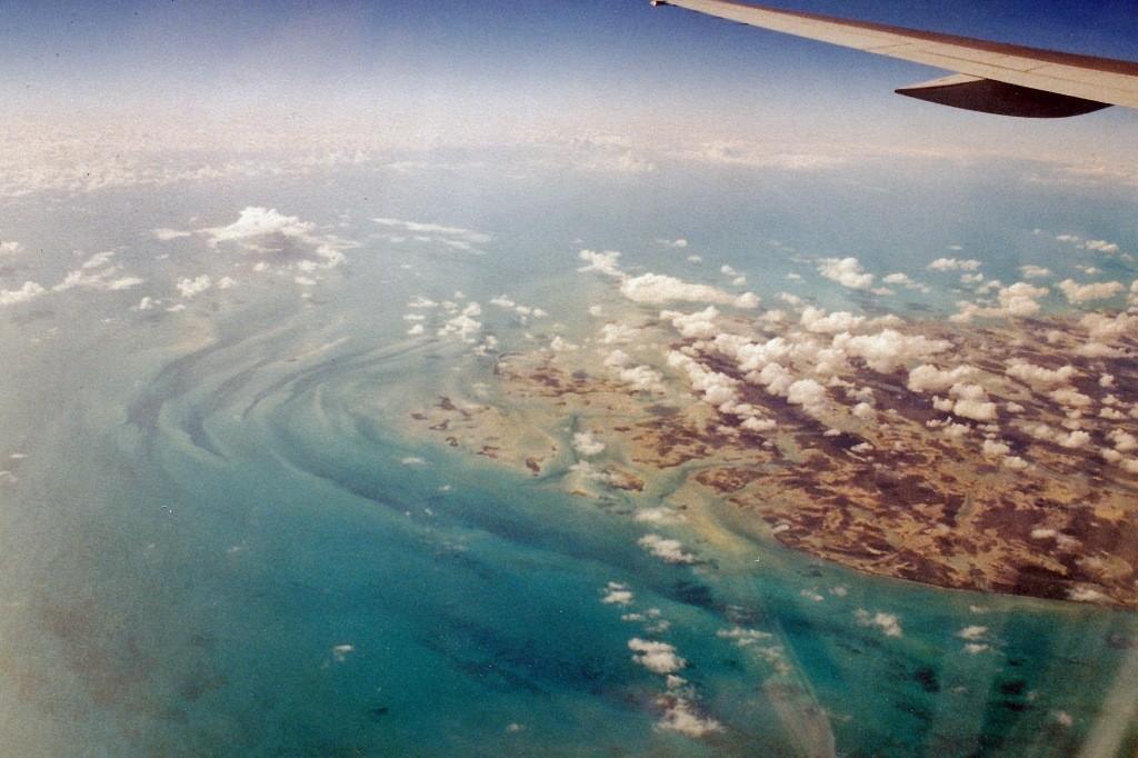 ...unter uns ein Stück des Inselstaates Cuba
