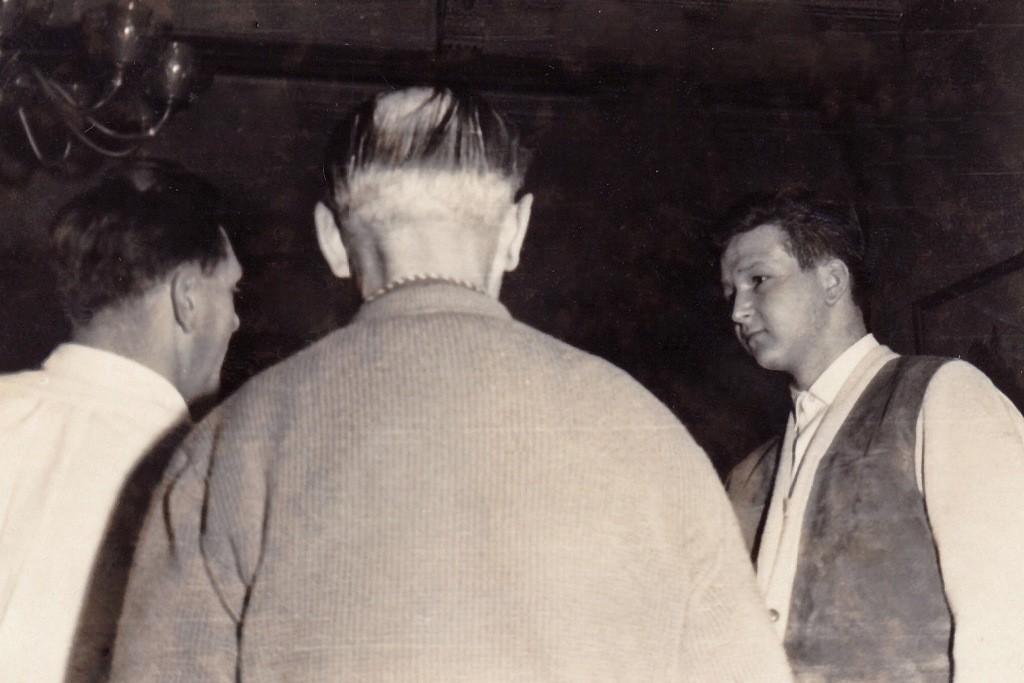 Feierliche Klubaufnahme 1963