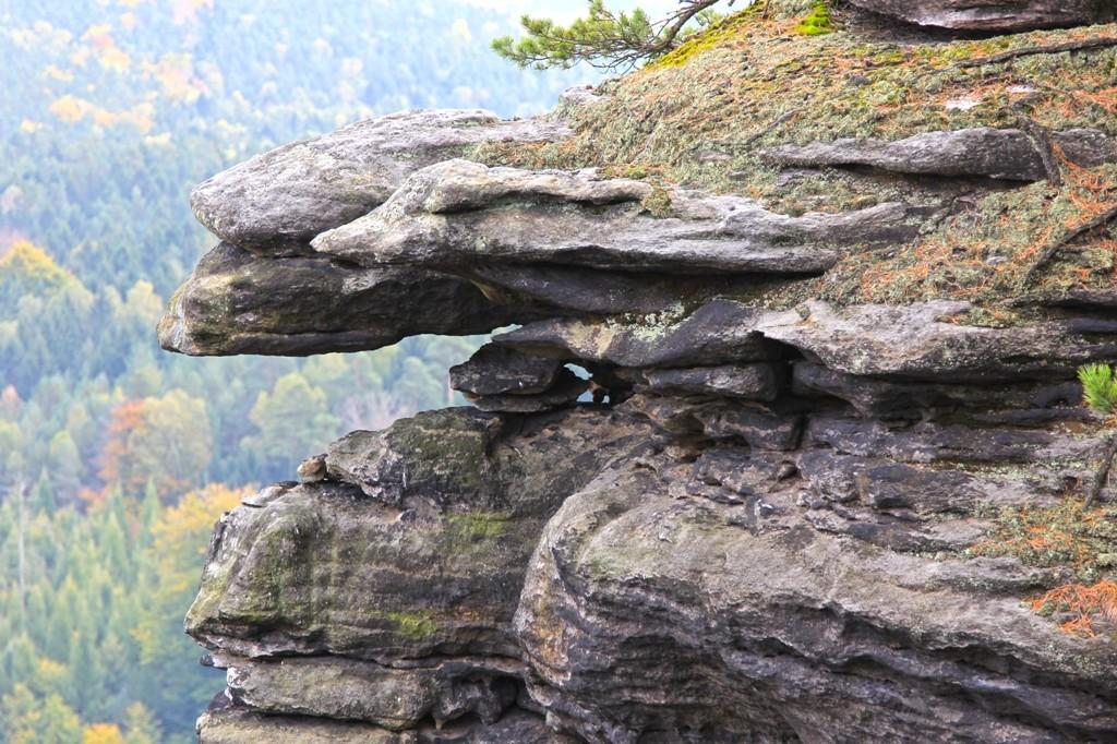 Äußere Ausleger der Felsmassive am Pfaffenstein