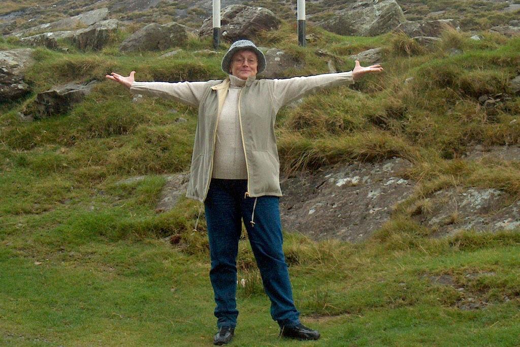 Irland ich liebe dich, will hier Hannelore zum Ausdruck bringen!