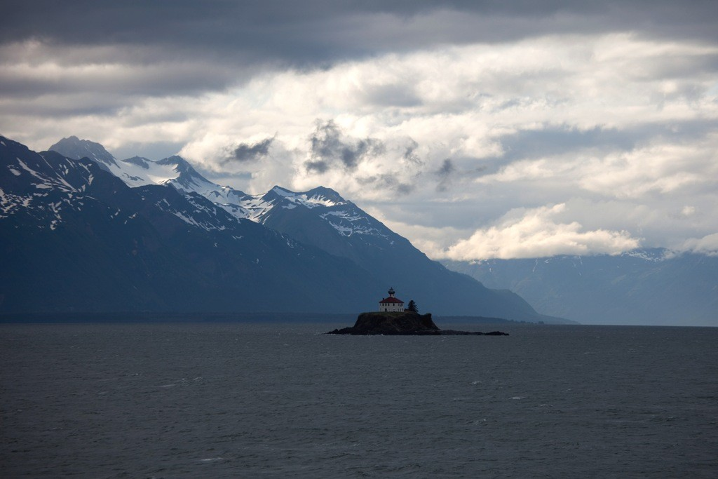 Das Eldred-Rock-Lighthouse in der Inside Passage