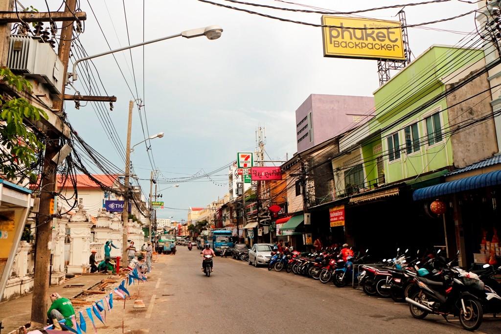 Adieu Phuket Town - die Fahrt geht weiter zum Promthep Cape und Nai Harn Beach
