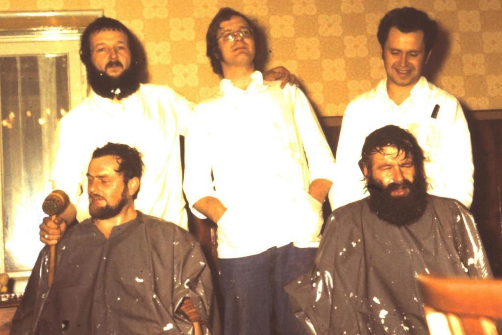 Mitglieder Aufnahme zum Stiftungsfest 1979