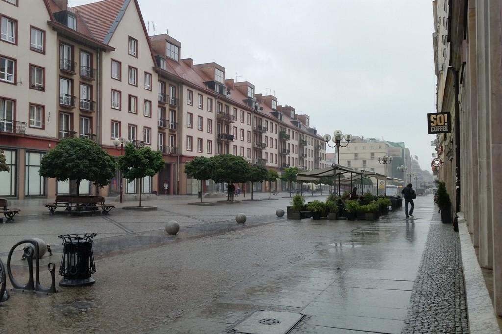 ...Sauwetter auf der Schweidnitzer Straße