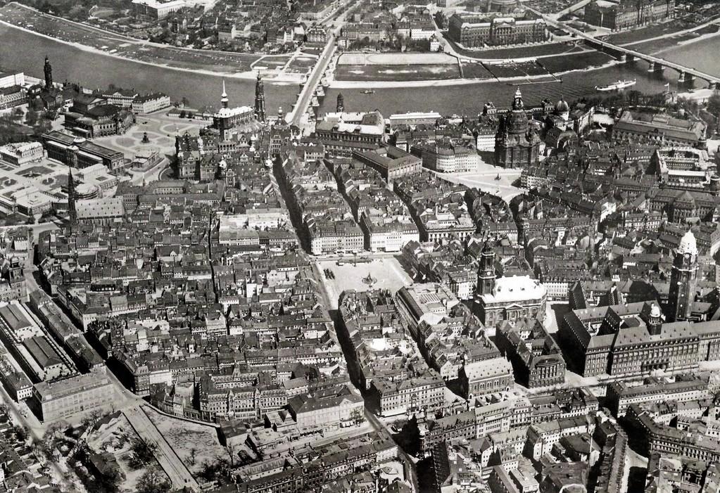 Dresden - Innenstadt um 1943