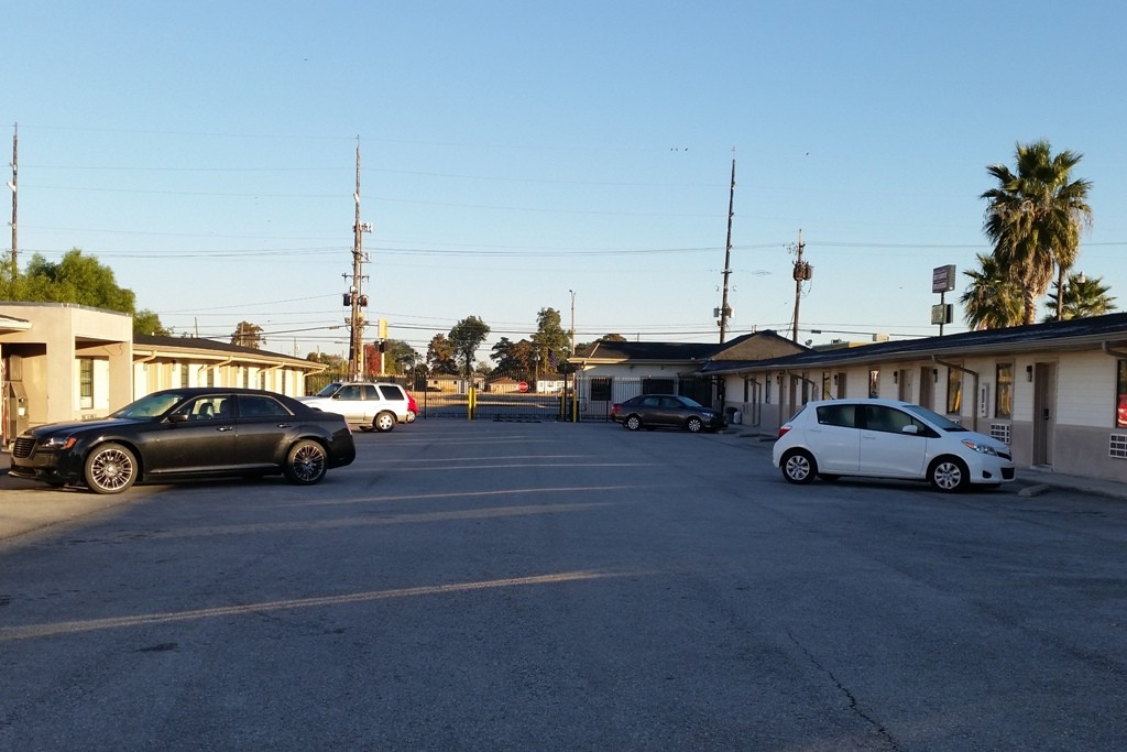 ...das Motel am nächsten Morgen, der Tag scheint so richtig schön zu werden!