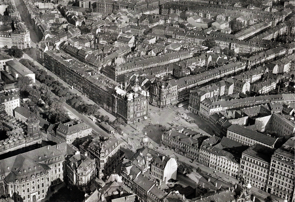 Dresden - Pirnaischer Platz um 1943