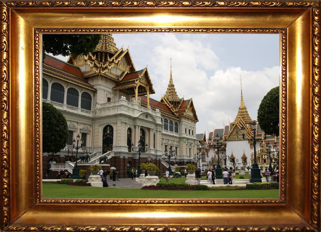 Chakri Maha Prasat im Großen Königspalastes von Bangkok, einst offizielle Residenz der Könige von Siam