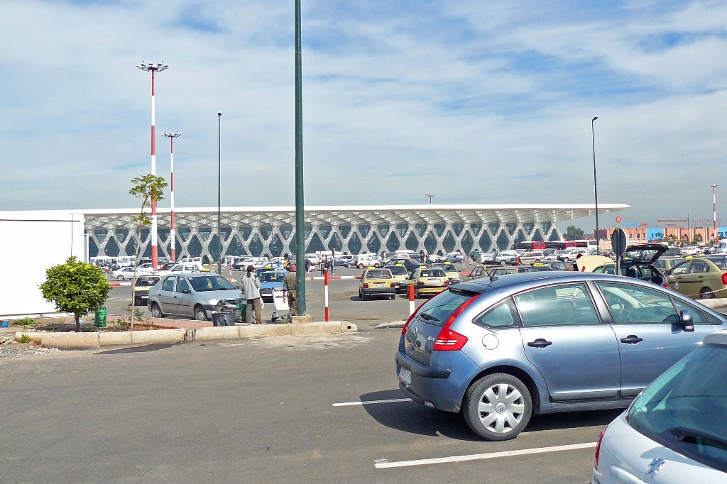 Wir landeten dieses mal bereits am neuen Terminal, welcher sich in voller Pracht darstellte.