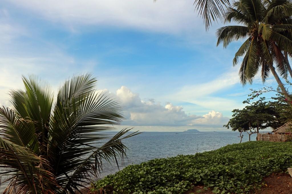 ...und wieder Apo Island im Hintergrund