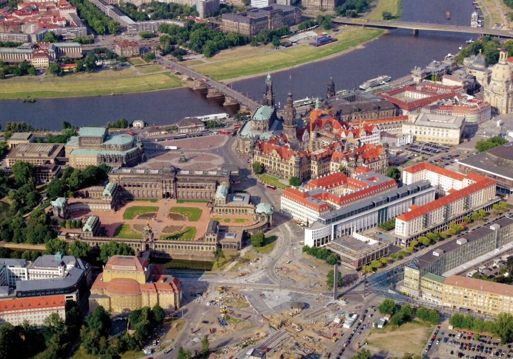 Dresden - Nordwestliche Altstadt dieser Tage