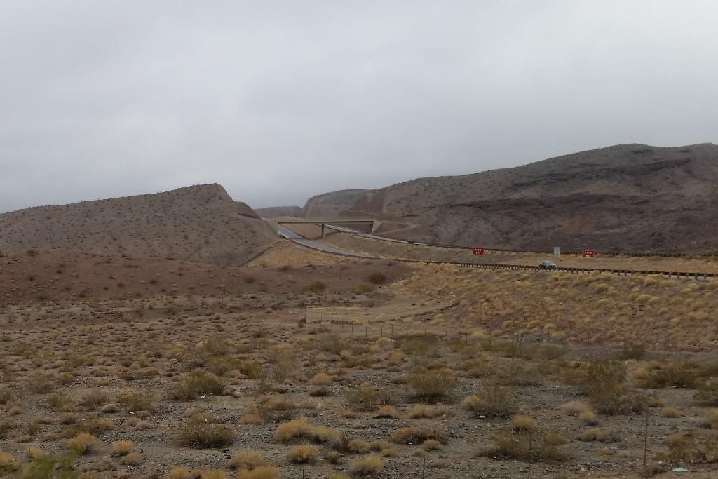 Die US 93 in Richtung Kingman