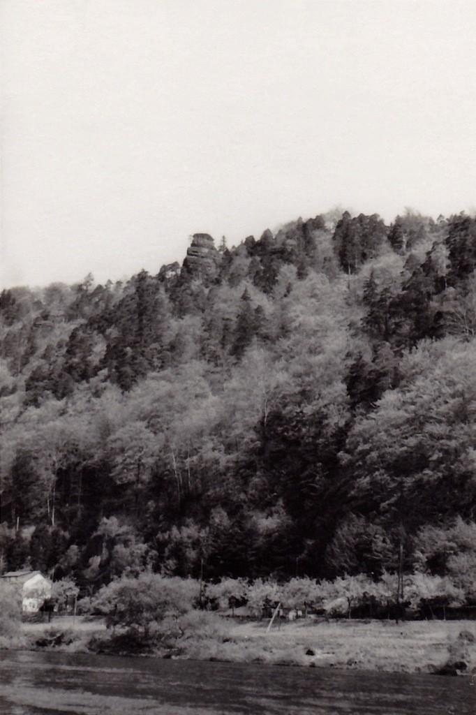Elbtalturm (Bismarkfelsen) hier bin ich schon einige Monate eher mit Steffen gewesen