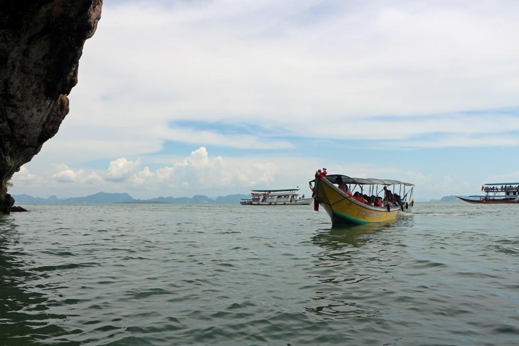Die Phang Nga Bay ist eine flache Meeresbucht mit vielen Inseln und felsigen Klippen, ein intertidal bewaldetes Feuchtgebiete (Gehzeitenzone) mit vielfältigen Lebensräumen!