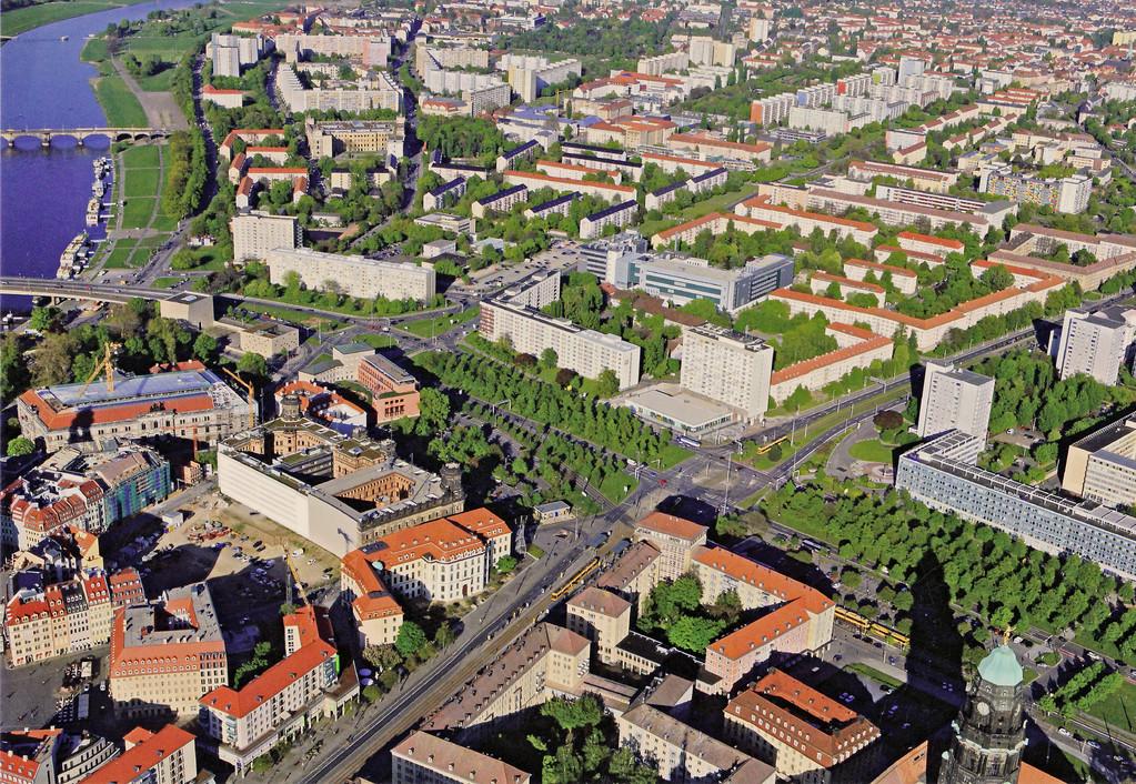 Dresden - Pirnaischer Platz dieser Tage