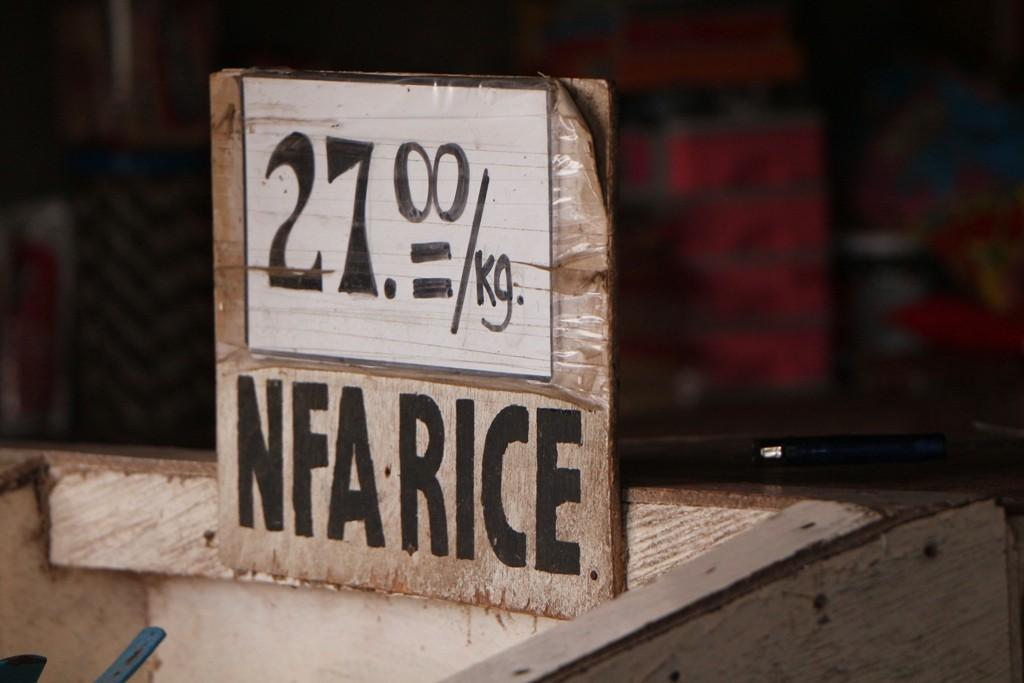 Ein Kilo Reis in Angelita´s Restrobar kostet hier schlappe 0,51 €!