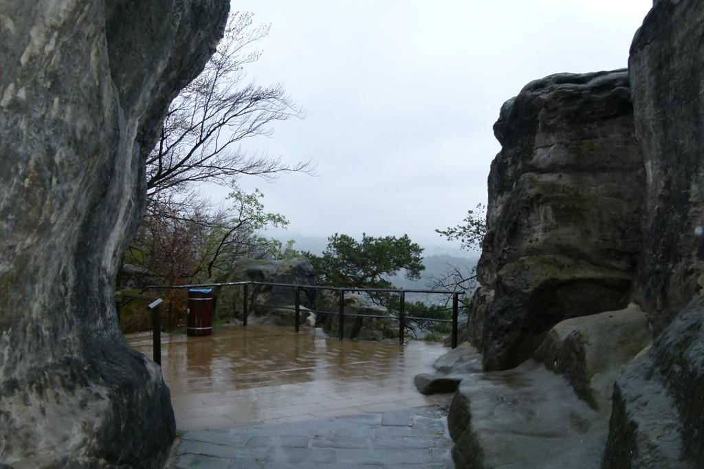 Es regnete in Strömen...