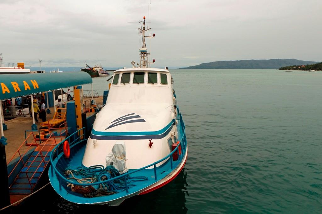 ...wir legen im Ferry Port von Tagbilaran an, ein ganzer Tag Bohol steht uns zur Verfügung!