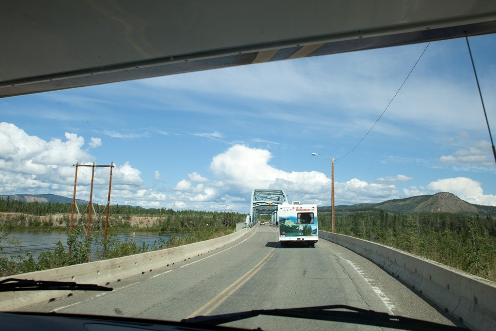 Brücke über den Yukon River bei Carmacks