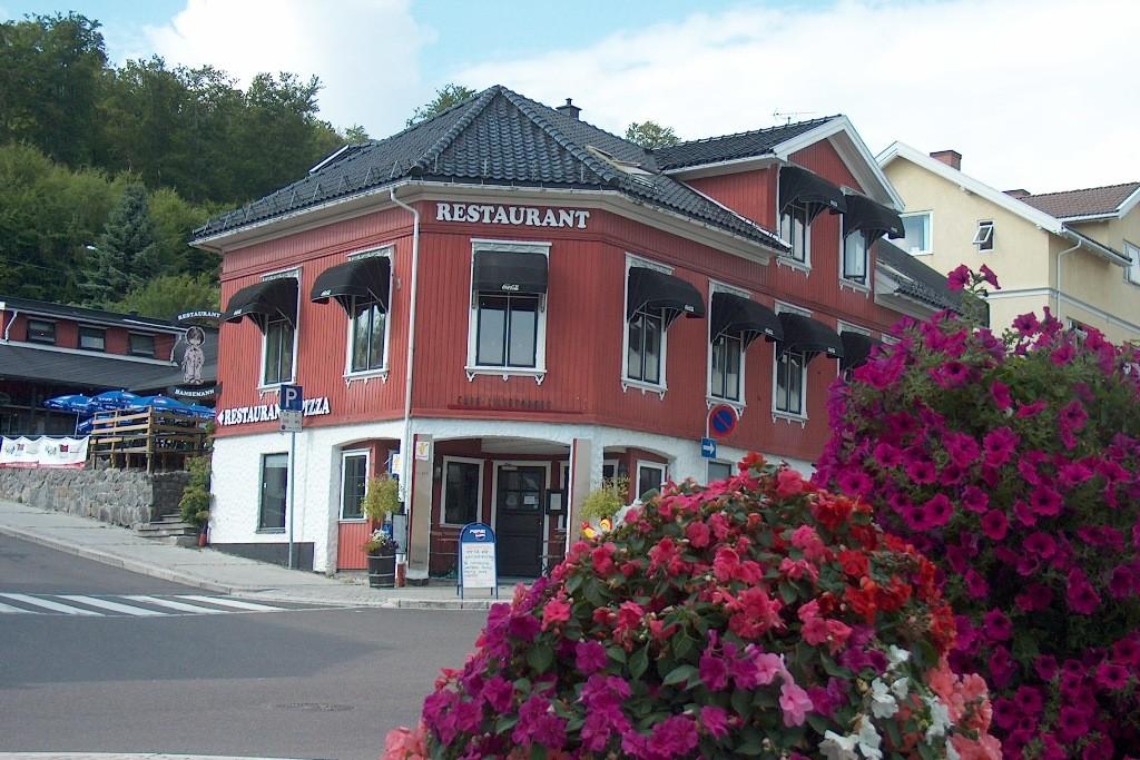 Stadtdetail von Larvik.