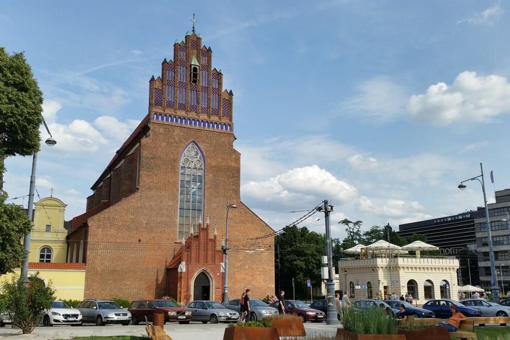 Die Kirche Parafia Rzymskokatolicka p.w. Bożego Ciała