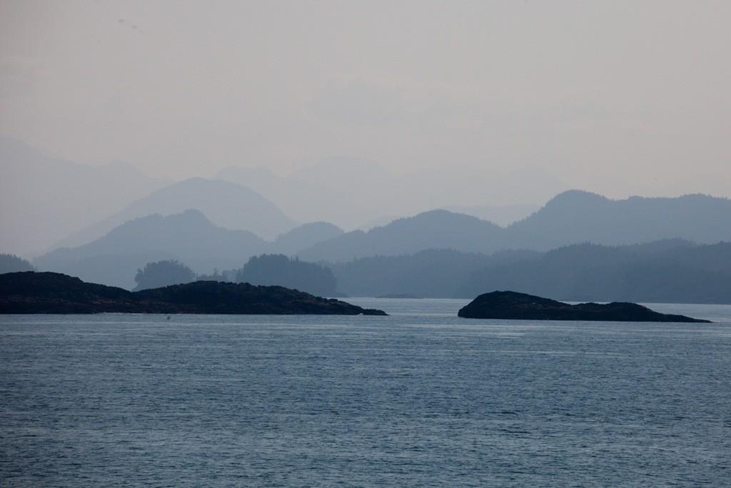 Teilansicht der Insel Haida Gwaii oder auch Queen Charlotte Islands