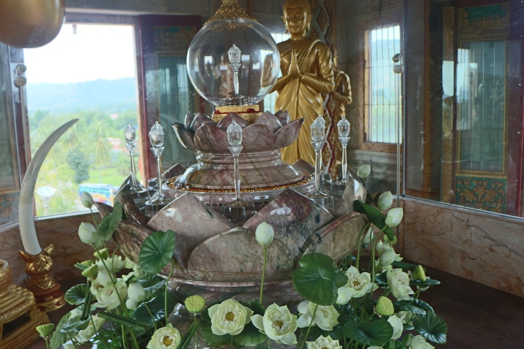 ...das Heiligtum hinter Glas