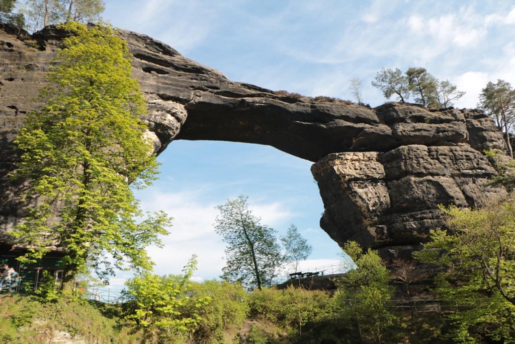Das Prunkstück, größtes natürliches Felsentor Europas