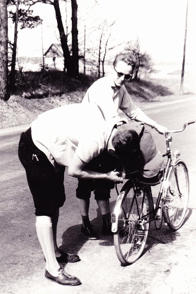 Radtour durch Nordböhmen 1964