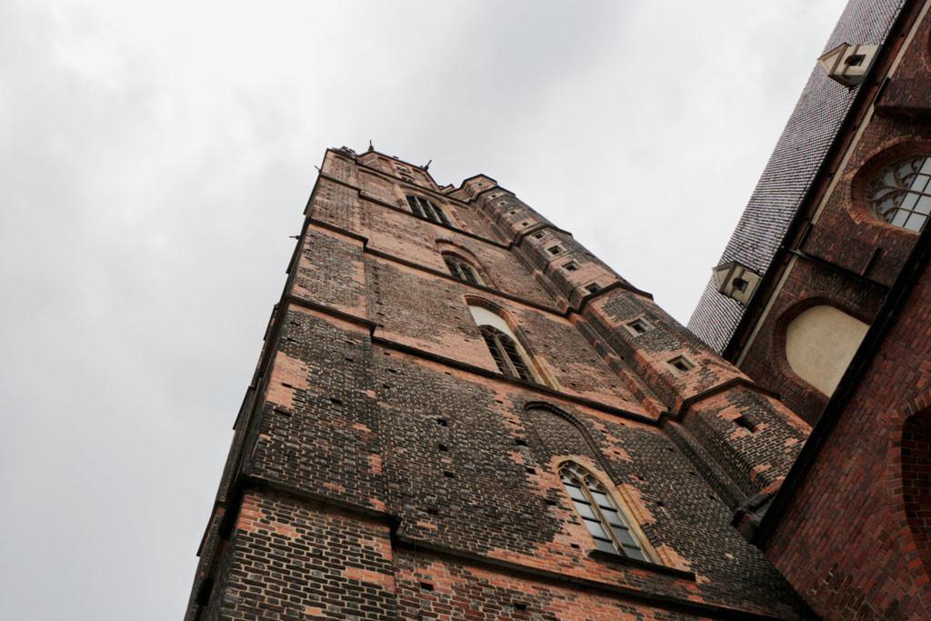 Aussichtsturm der Garnisonskirche. St. Elizabeth. Lasche 304 hohe Stufen quält man sich da hoch!