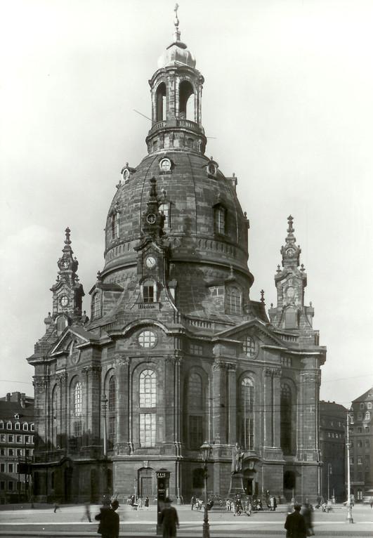 Dresden - Frauenkirche (1726-43 v. George Bähr)