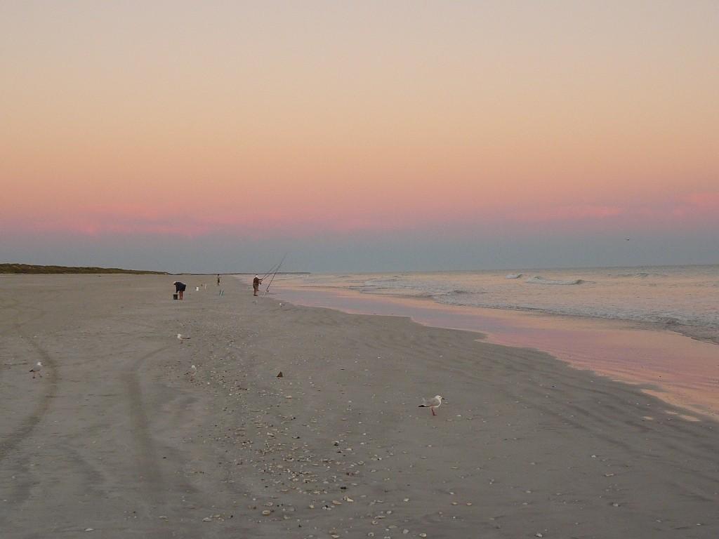 Und so sieht der Blick in die andere Richtung nach Westen aus, wunderschönes, diffuses Licht mit einzigartigen Farbnuancen.