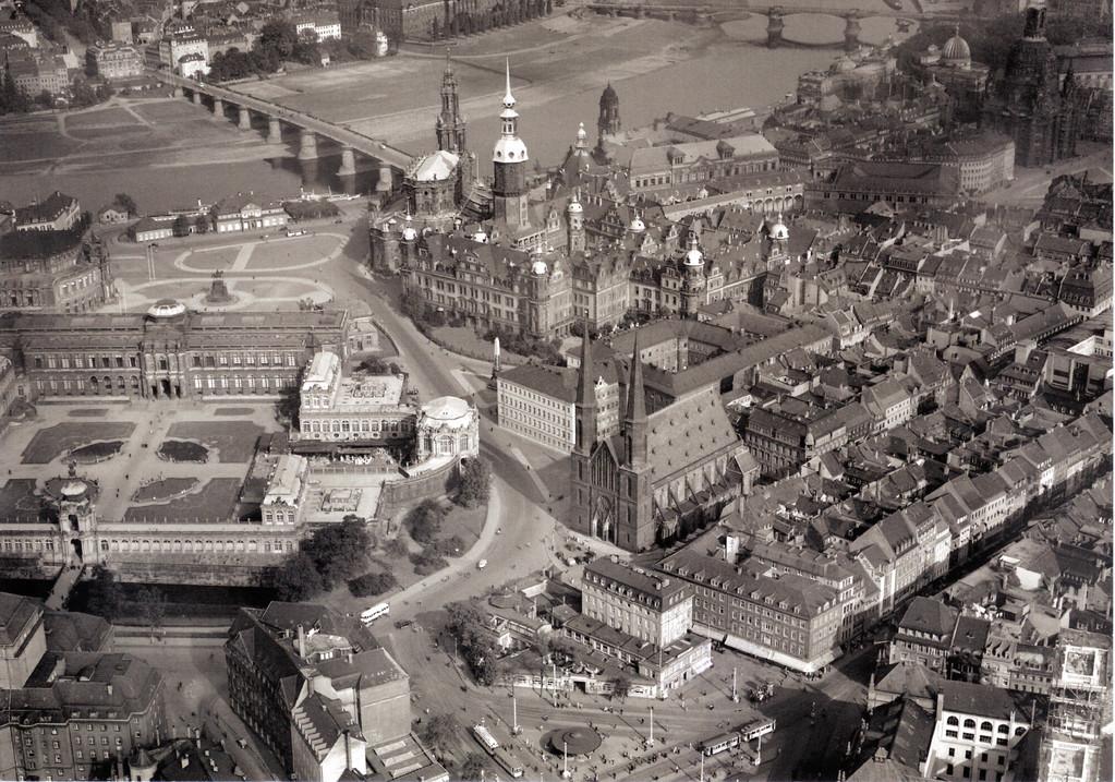 Dresden - Nordwestliche Altstadt einst