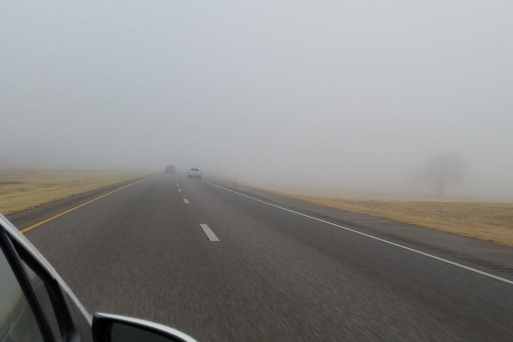...die Fahrt im Nebel geht weiter!