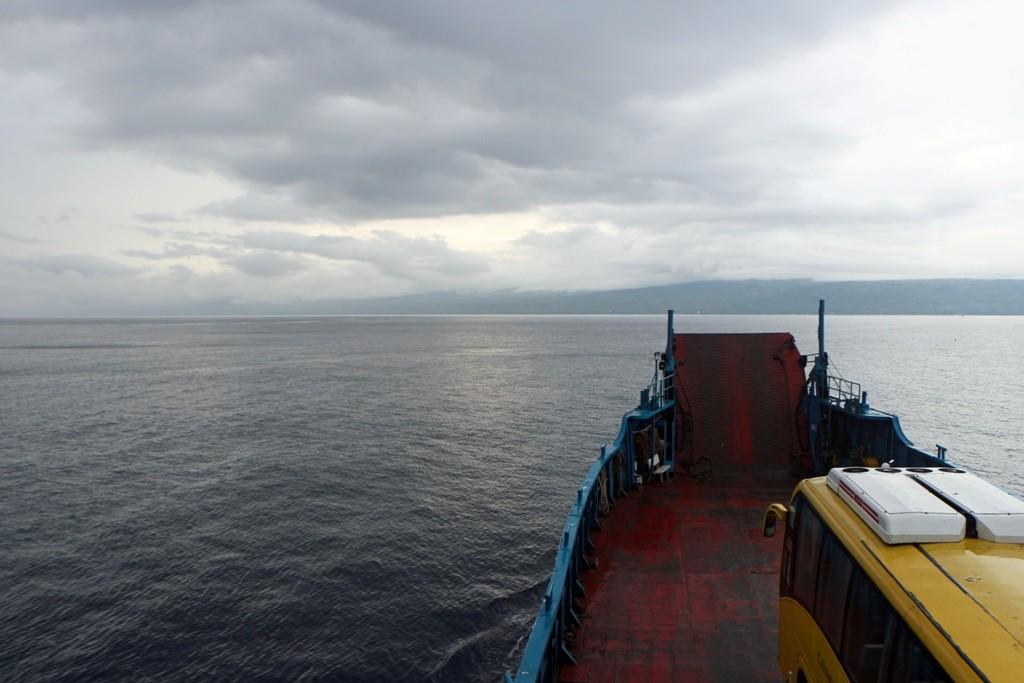 Der Blick voraus auf Cebu Island und die Tanon Strait!