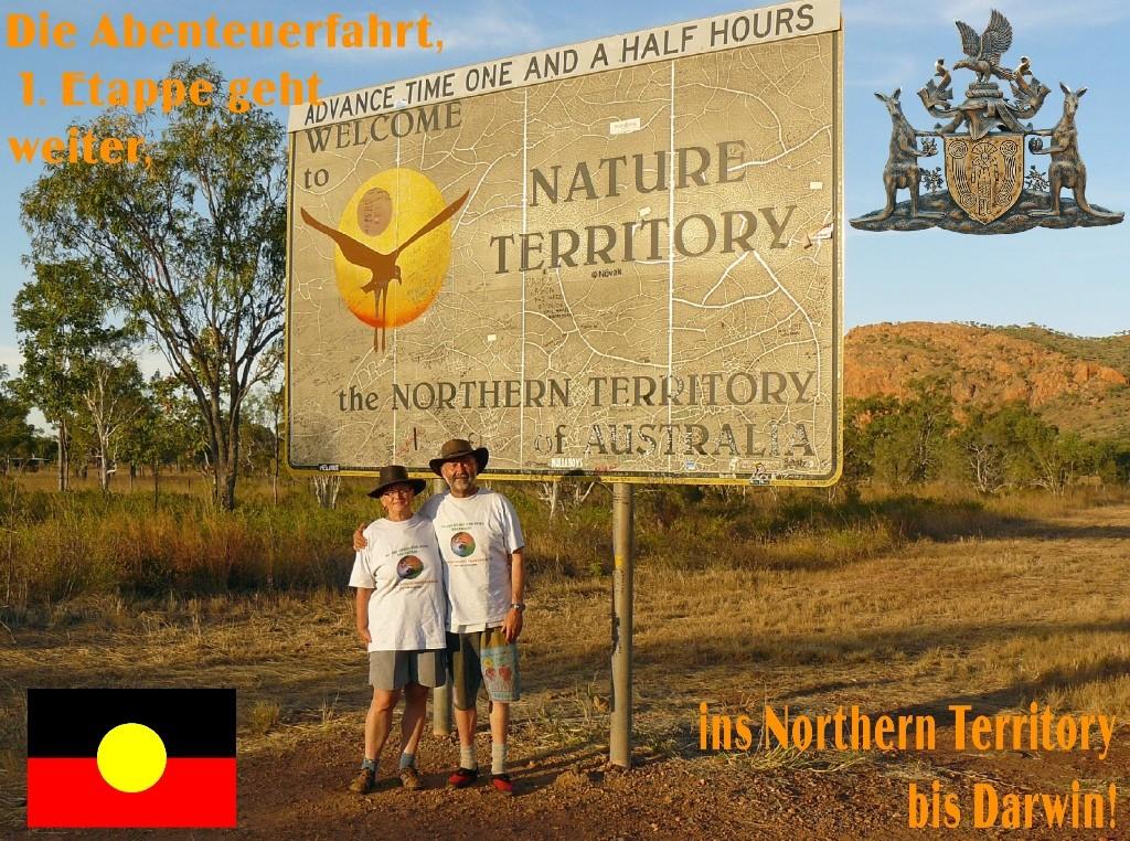 Western Australia liegt hinter uns, nun geht die spannende Fahrt weiter ins Nothern Territory!
