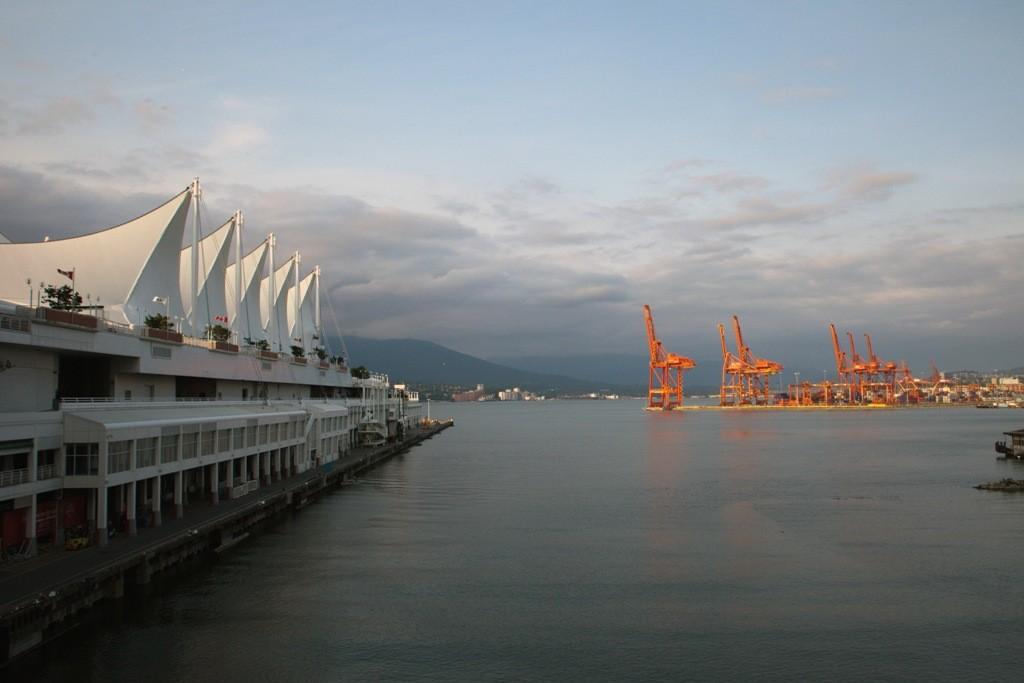 Blick auf Vancouver Harbour